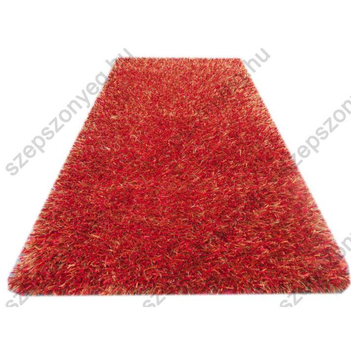 Emir Shaggy Exkluzív Design szőnyeg terra színben 70 x 140 cm