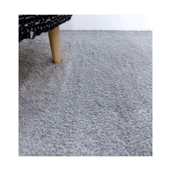 Lilom Fehér Shaggy Padlószőnyeg  4 m széles