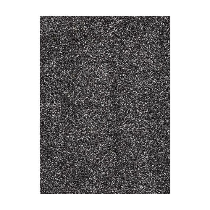 Adele padlizsán lila shaggy padlószőnyeg  4m széles