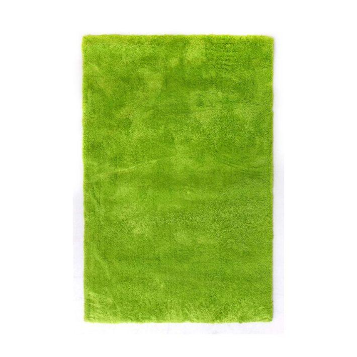 Donau Shaggy szőnyeg élénk zöld színben 160 x 230 cm