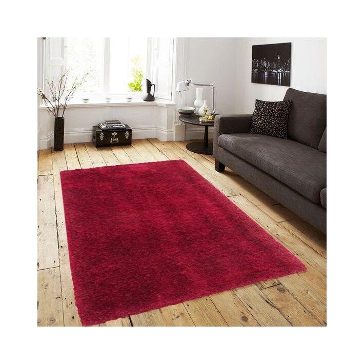 Brescia bordó-piros shaggy szőnyeg