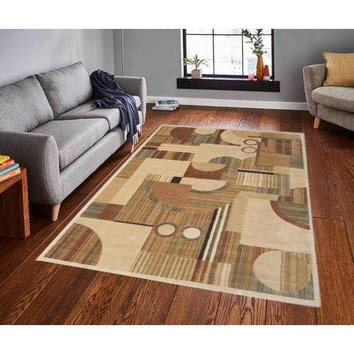 Nola Klasszikus Krém Barna szőnyeg 160 x 230 cm