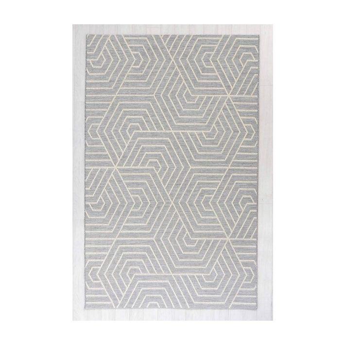 Curia rojtos bézs szürke vékony szőnyeg
