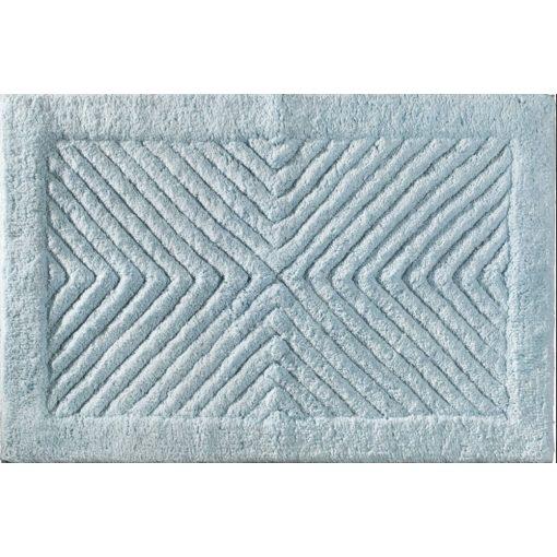 Akvamarin Plüss Guy Laroche fürdőszoba szőnyeg prémium kék