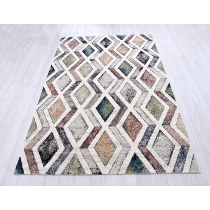 Valentin Zöld Krém Nyírt szőnyeg 240 x 330 cm
