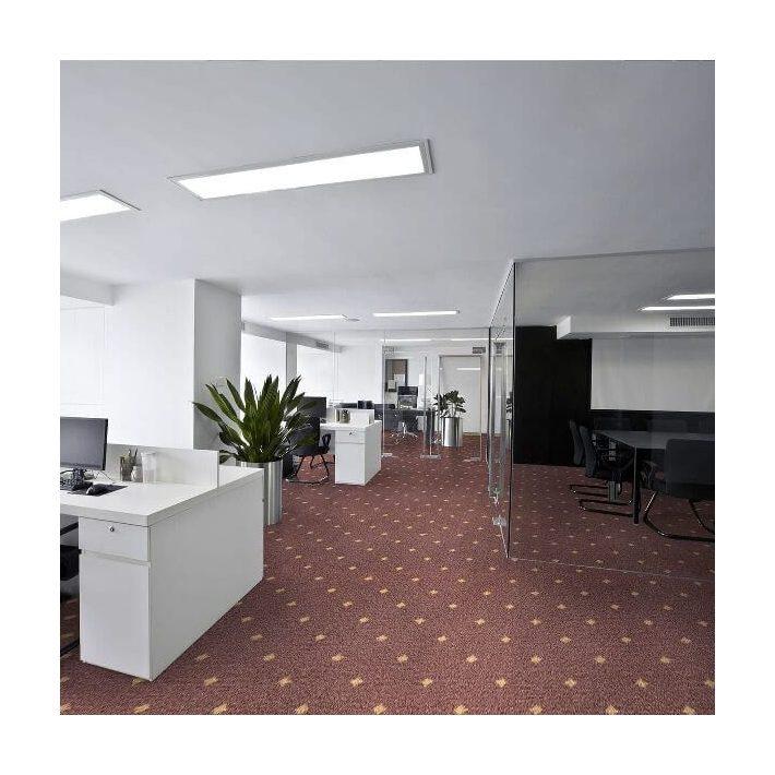 Hóvirág Exkluzív Vastag Nyírt Minőségi padlószőnyeg 4 m széles fehér színben