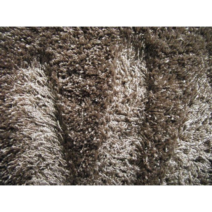Tavoletta különleges barna shaggy szőnyeg