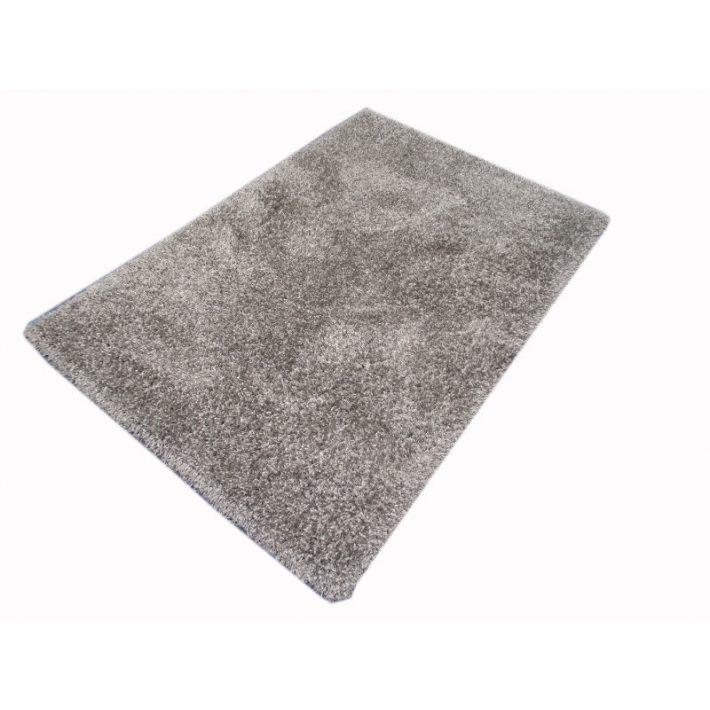 Cristallo Vastag Ezüst szürke shaggy szőnyeg 200x290cm