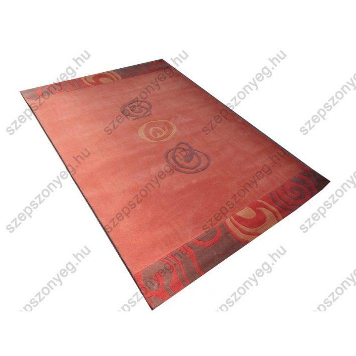 Asahy Ifjúsági-kamasz Nyírt szőnyeg 165x230 cm narancs színben