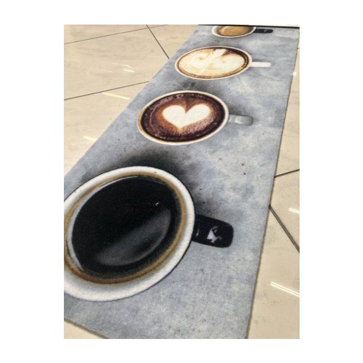 Citrom-alma bézs konyha szőnyeg