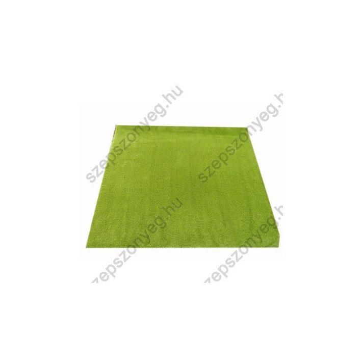 Brekk Zöld Shaggy Padlószőnyeg 4 m széles