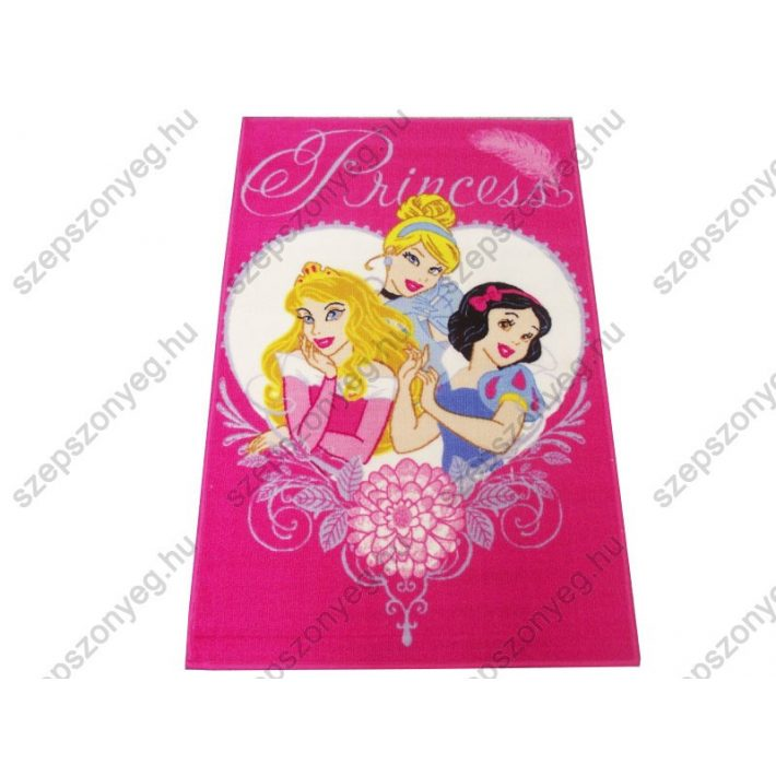 Hercegnők Disney Gyerekszőnyeg 80 x 120 cm