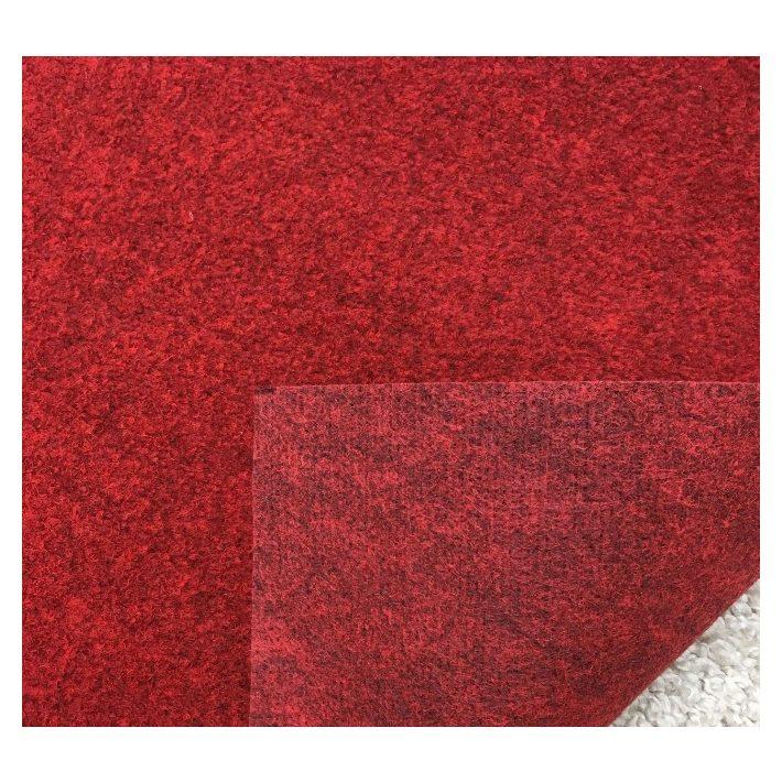 Begonia Erős Ipari Filc padlószőnyeg bordó színben 4m széles