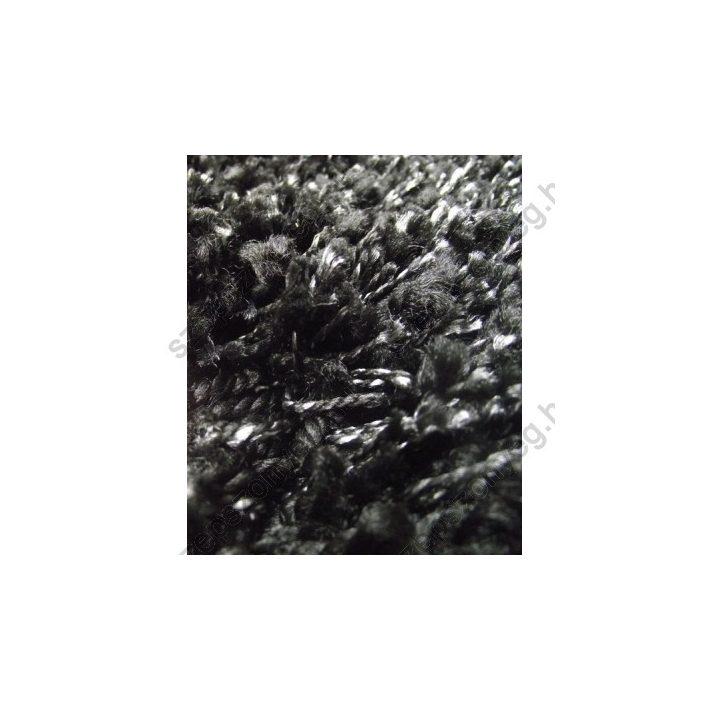 Olympia Vastag Fekete Exkluzív Shaggy Szőnyeg 200 x 290 cm