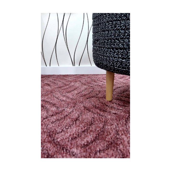 Aléna Nyírt Konyak színű padlószőnyeg 4 m széles