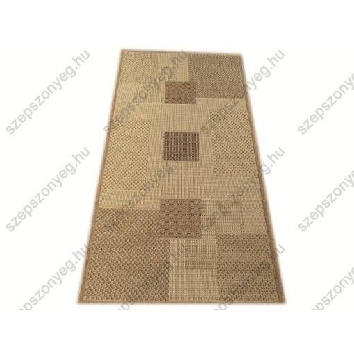 Porsa Bézs Barna elegáns szizál Szőnyeg  80 x 150 cm