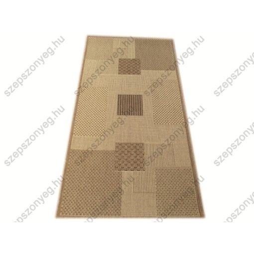 Porsa szizál jellegű Szőnyeg Bézs Barna 80 x 150 cm