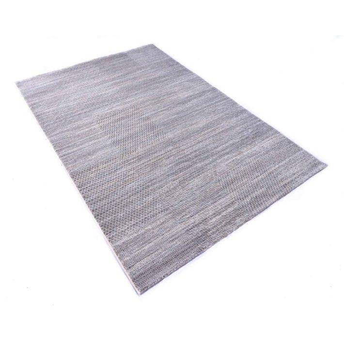 Lylla Modern mintázatú Nyírt szőnyeg lila színben 200x290cm
