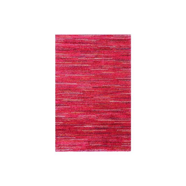 Grazia Tégla Piros Shaggy szőnyeg 160 x 230 cm
