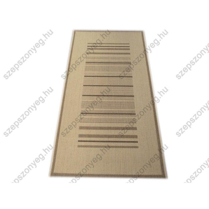 Shay Bézs Barna elegáns szizál Szőnyeg  80 x 150 cm