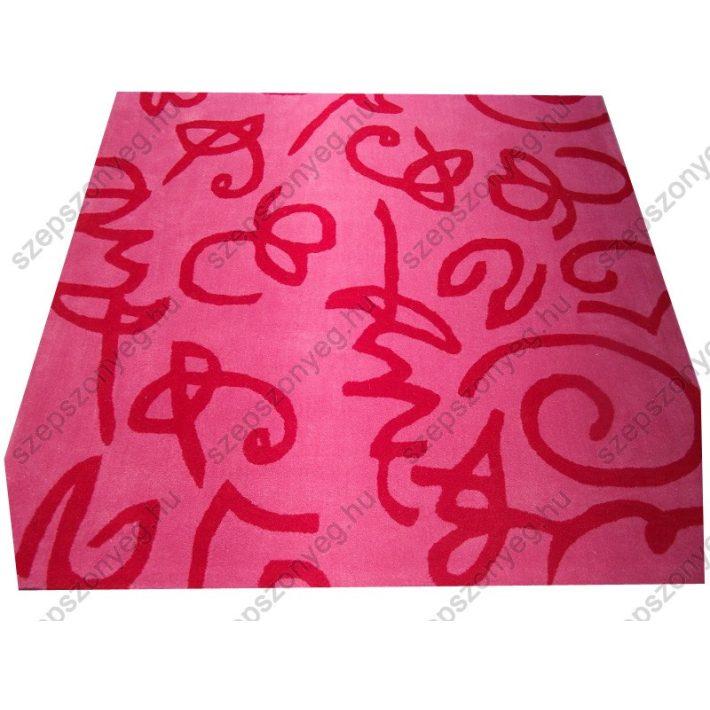 Hikary Ijúsági-kamasz Vastag nyírt szőnyeg 165 x 230 cm pink színben