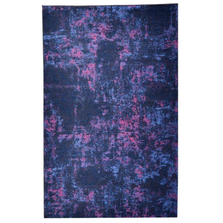 Nádika Színes green Virágos szőnyeg 80x150
