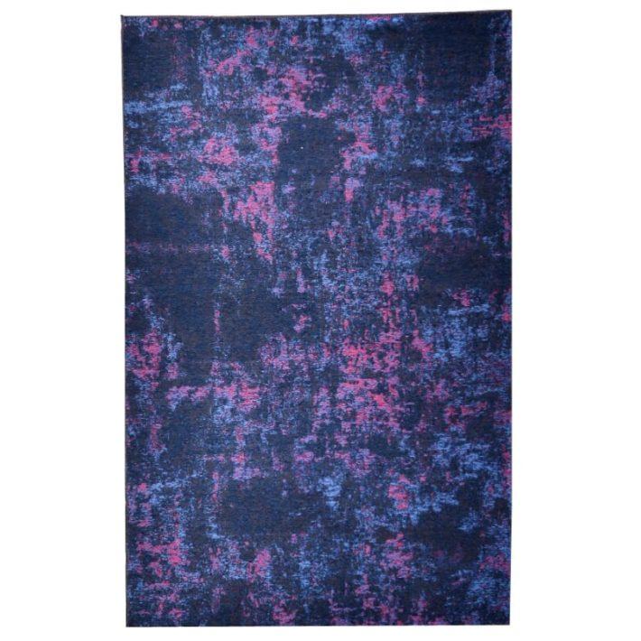 Nádika Színes green Virágos szőnyeg 80 x 150 cm