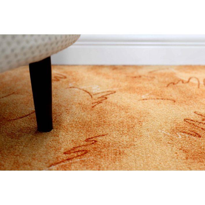 Mimike Buklé padlószőnyeg 5 m széles terra színben