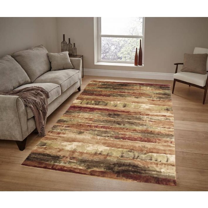 Nimes terra bordó klasszikus szőnyeg