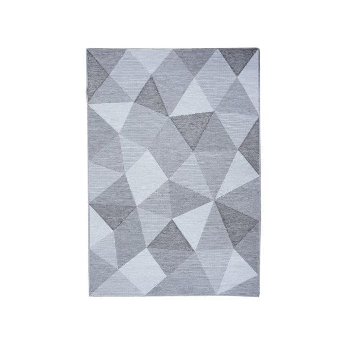 Balbina Zöld Krém Nyírt Szőnyeg 165 x 230 cm