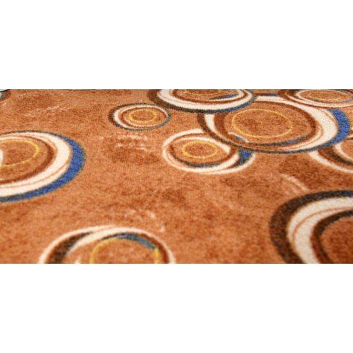 Natézia Buklé padlószőnyeg 4 m széles szürke színben