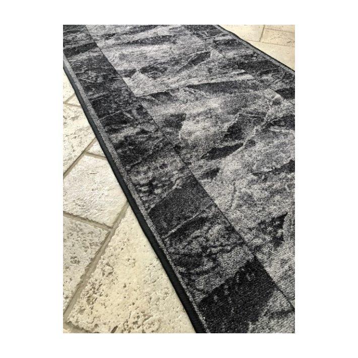 Ernella Tekercses Futószőnyeg Szürke-Kék Színben 67 cm széles