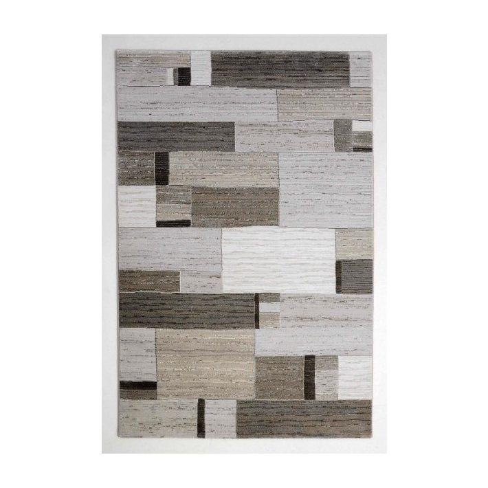 Catarina modern bordó terra szőnyeg
