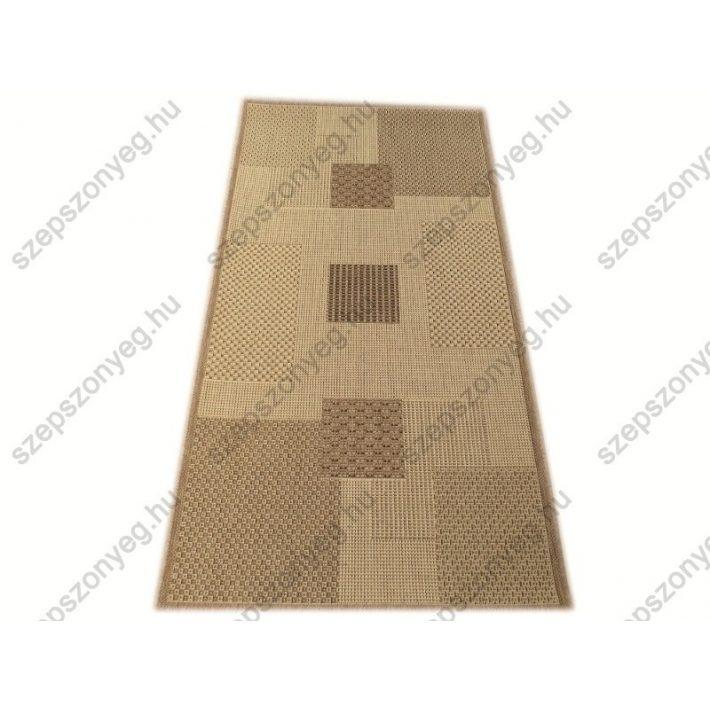 Dance Bézs Barna elegáns szizál Szőnyeg 80 x 150 cm
