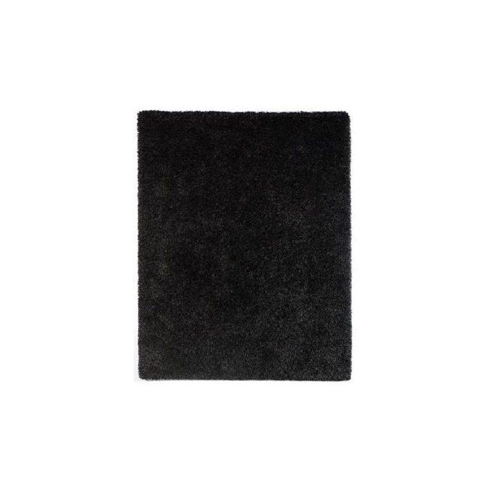 Jocky vastag Fekete shaggy szőnyeg 200x290cm