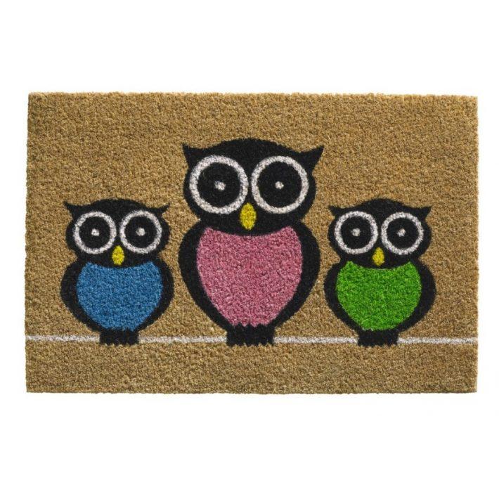 Home Szövet - Gumi beltéri Lábtörlő 45 x 75 cm