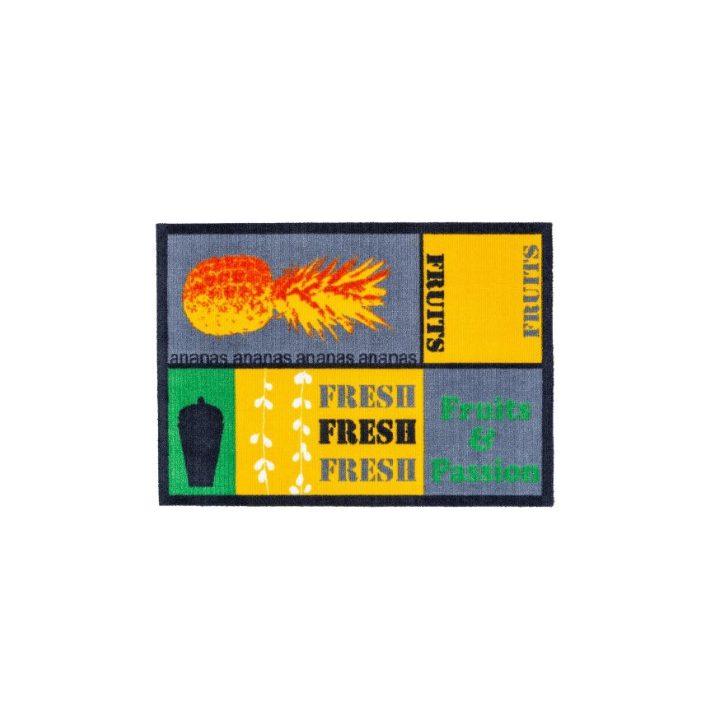 Darius Erős Strapabíró Gumis kőmintás Lábtörlő 75 x 47 cm