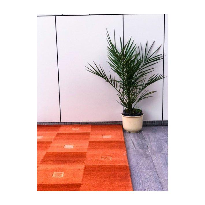100% Gyapjú Gyöngyi Eredeti Gyapjúszőnyeg fehér 140 x 200 cm