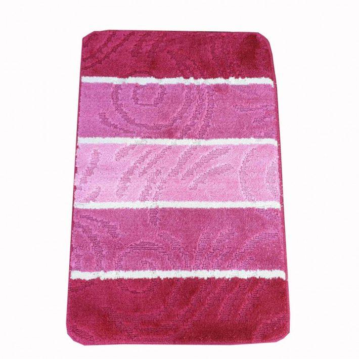 Heidi Rózsaszín Fürdőszoba szőnyeg szett 2 részes 50 x 80 cm