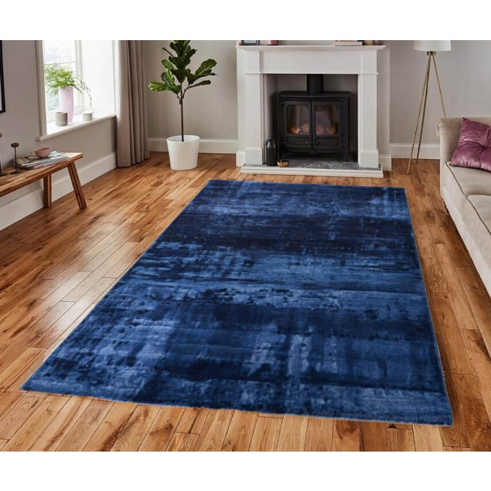 Kashar Kék Modern Szőnyeg 160 x 230 cm