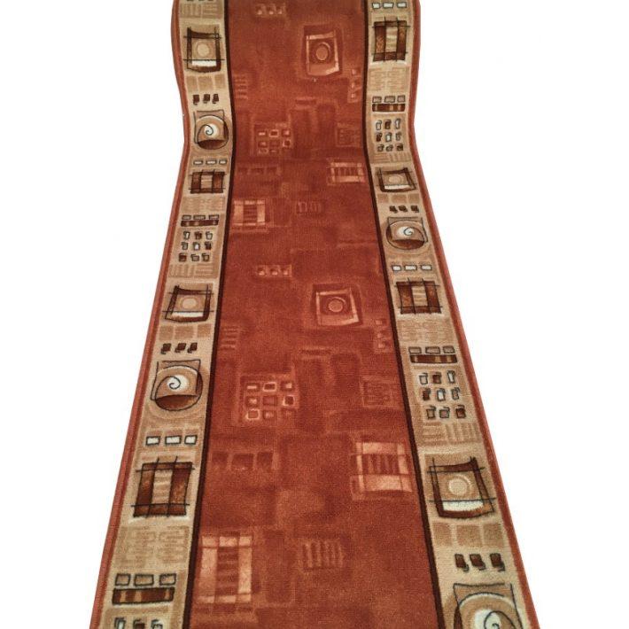 Ketrin Tekercses Futószőnyeg Terra-Bézs 80 cm széles