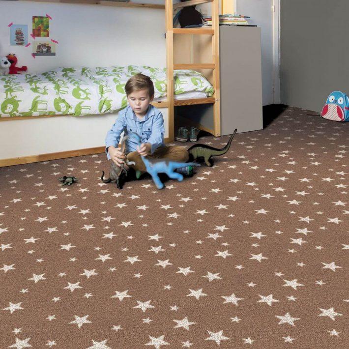 Mukri Szürke Padlószőnyeg Hurkolt 4 m széles