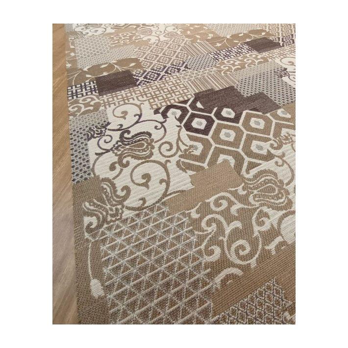 Napvirág Tekercses Futószőnyeg 67 cm széles Zöld Színben