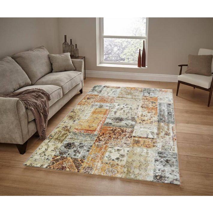 Nogaro Mustár Sárga Szőnyeg 200 x 290 cm