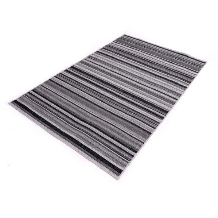 Radovis Kék Kockás Szőnyeg 160 x 230 cm