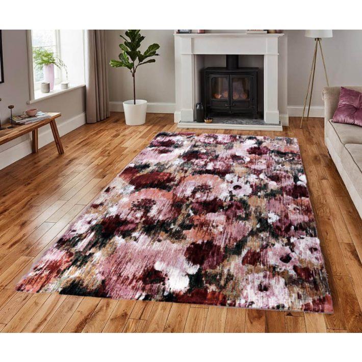 Tobar Festői Virágmintás Szőnyeg 133 x 195 cm