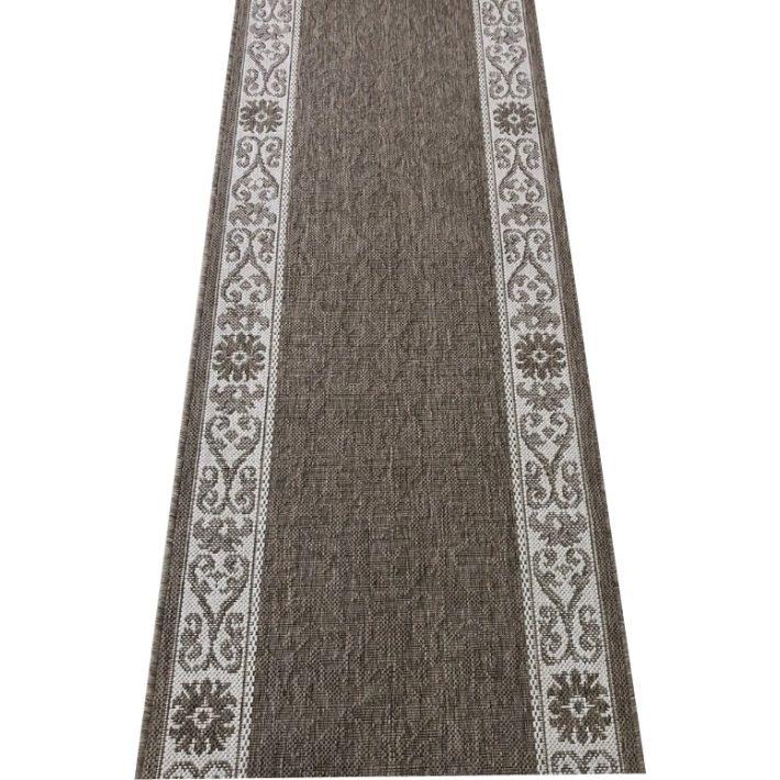 Vincencina Drapp Színű Tekercses Futószőnyeg 100 cm széles