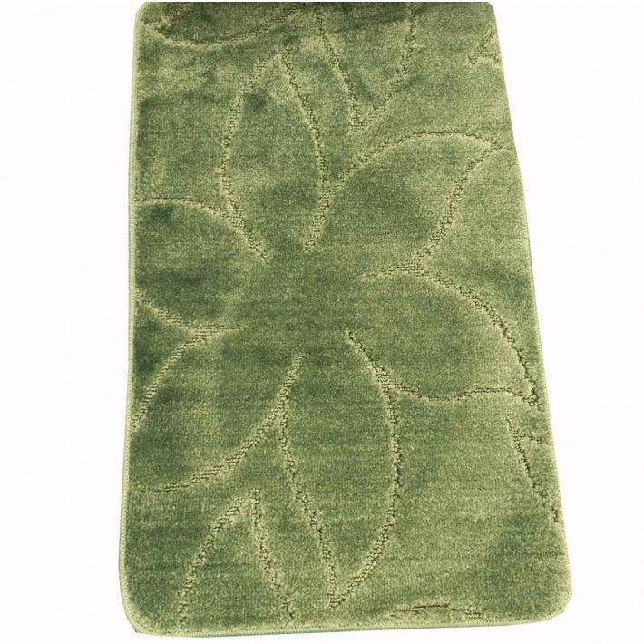 Zalán Zöld Fürdőszoba Szőnyeg Szett 2 részes 50 x 80 cm